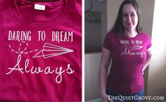 """When Cricut asked me to design a trendy t-shirt as a sneak peek for some soon to be released (graphics and fonts) in Cricut Design Space I thought to myself, """"Why just design one when I could design one for each member of my family?"""
