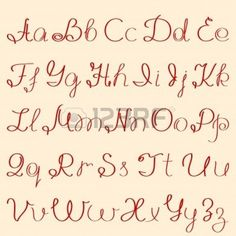 Back To More Alphabet In Different Lettering Styles >> Print Handwriting, Hand Lettering Alphabet, Cursive Letters, Doodle Lettering, Handwritten Letters, Calligraphy Alphabet, Calligraphy Fonts, Different Lettering Styles, Types Of Lettering