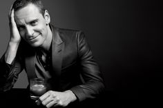 Michael Fassbender by Gavin Bond - Newsweek's Oscar Roundtable