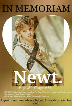 I made this edit for #thedeathcure. RIP Newt