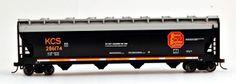 Bachmann HO Scale Train 56' ACF Center-Flow Hopper Kansas City Southern 17503