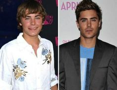 Celebrities in their Youth and Now (16 Then&Now