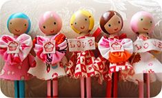 How to Make Clothespin Dolls | Clothespin Dolls- Guest Blogger Post | Just Something I Made
