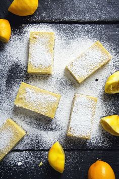 Vegan lemon bars that are perfectly tart, sweet, creamy and so easy to make! Just 8 ingredients, gluten-free, grain-free AND refined sugar-free.