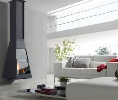 chimeneas de diseo para lea modernas estufas insertables