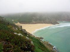PORTHCURNO:  Porthcurno Beach was used in filming of the British TV series Poldark https://destinationfiction.blogspot.ca/2016/10/coastal-marvels-of-cornwall.html