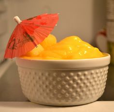 Mango Pineapple Sorbet  1 cup frozen pineapple chunks  1 cup frozen mango chunks  1/2 cup unsweetened vanilla almond milk  Add all ingredients to VitaMix (or blender) and blend until smooth.