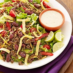 Southwest Salad from familycircle.com #myplate #salad