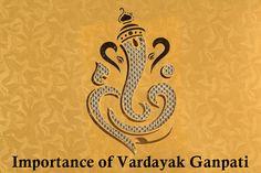 Importance of Vardayak Ganpati - Vardayak Ganpati will bestow upon you untold #happiness and prosperity. Make all of your dreams come true.  #ganesha #ecofriendlyganesh #ganeshutsav #lordganesh