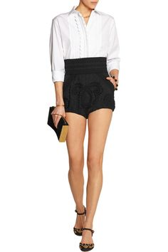 Shop on-sale Dolce & Gabbana Embroidered jacquard shorts. Browse other discount designer Shorts & more on The Most Fashionable Fashion Outlet, THE OUTNET.COM