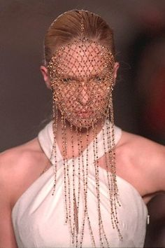 Givenchy by Alexander McQueen, Haute Couture Spring-summer 1997.