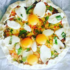 Ontbijtpizza by Vidia // Juli2017