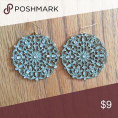 Francesca's Earrings Beautiful mint green circle earrings. Francesca's Collections Jewelry Earrings