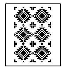 Hey, I found this really awesome Etsy listing at https://www.etsy.com/listing/522213975/stencils-aztec-design-pattern-5-painting