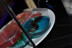 jello & gummy worms (parties & fundraisers)