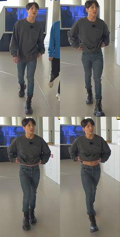 Maknae Of Bts, Bts Bangtan Boy, Jungkook Oppa, Bts Boys, Taehyung, Run Bts, Foto Bts, Jikook, Bts Memes