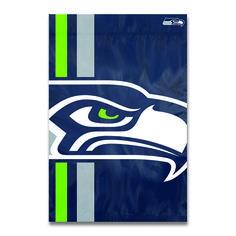 Seattle Seahawks Bold Logo Banner