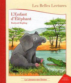 Au temps où les éléphants n'avaient pas encore de trompe, il y  avait un petit éléphant plein de curiosité. Un jour, il entreprit  un grand voyage…