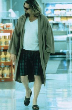 500 Pop Culture Halloween Costume Ideas The Dude From The Big Lebowski  What to wear: A bathrobe, a gray t-shirt, and boxer shorts. How to act: Make a White Russian your drink of choice throughout the night.