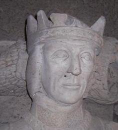 Скульптурное изображение Джона Типтофта на его гробнице в соборе Или