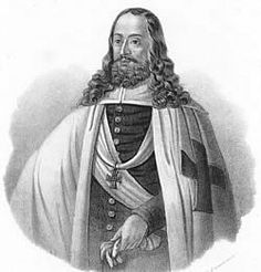 Heinrich Reuss Von Plauen, the last Hochmeister of the Brotherhood of Olympus, who was also the leader of the Teutonic Knights--he died in 1469.