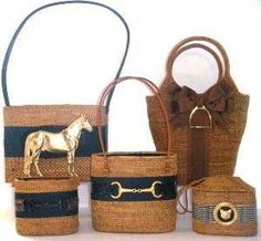 e55327d8f17f Vintage equestrian style bag. Perfect for my equestrian girls ...