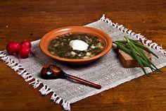 Весенний суп с крапивой