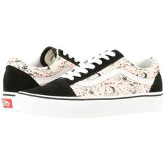 e35285421eb3b Vans Old Skool X Peanuts Collaboration ((Peanuts) Smack Pearl) Skate...  ( 70) ❤ liked on Polyvore featuring shoes