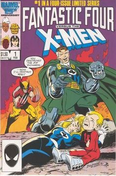 Fantastic Four vs. X-Men #1 | Classic!  I always loved this cover. I thought the expression on Richards face.