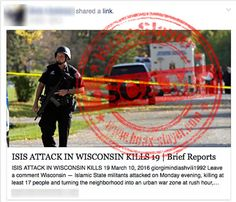 FAKE-News Reports About ISIS Attacks in US Lead to Malware Websites