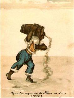 francisco fierro | LIMA EN LA HISTORIA: La Lima de Pancho Fierro (1807 - 1879)