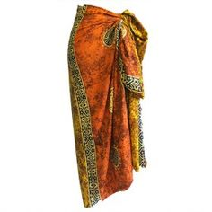 Bali Celtic Sarongs - Lucky Coins Assorted Colours) - Ancient Wisdom - Wholesale Giftware and Aromatherapy Supplier Vibrant Colors, Colours, Aromatherapy, Tie Dye Skirt, Beachwear, Bali, Elegant, Stylish, Sarongs