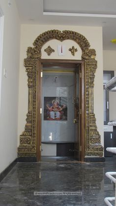 House Arch Design, Temple Design For Home, Pooja Room Door Design, Small House Interior Design, Door Gate Design, Door Design Interior, Design Your Dream House, Home Room Design, Tea Table Design