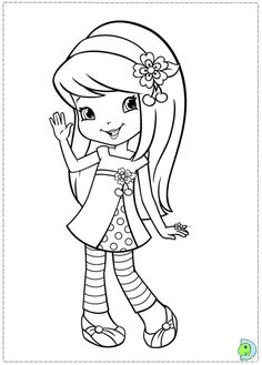 Strawberry Shortcake Coloring Pages - Strawberry Shortcake (in Brazil: Strawberry; in Portugal: Strawberry Honey ) is a character licensed, currently owned by Iconix Brand Group originally. Cool Coloring Pages, Coloring Pages To Print, Free Printable Coloring Pages, Coloring Books, Strawberry Shortcake Coloring Pages, Strawberry Shortcake Cartoon, Dora Coloring, Disney Princess Coloring Pages, Kawaii Doodles