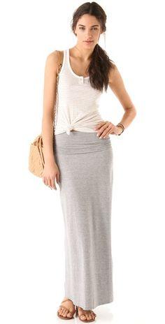 Splendid  Heather Maxi Tube Skirt / Dress