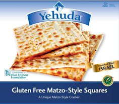 Kosher for Passover gluten free matzah, delivery across Canada and the United States.