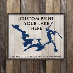 Custom Lake House Sign, Lake House Decor, Lake Life Print, Personalized Lake House Sign, Rustic Cottage Decor, Lake District, Hostess Gift by NorthernRustication on Etsy https://www.etsy.com/ca/listing/508874994/custom-lake-house-sign-lake-house-decor