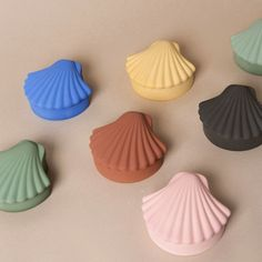 Seashell box, various colors — Betón