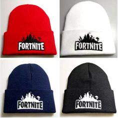 440b7138ec0  Fortnite Beanie  BattleRoyale Beany Winter Knit Skull Hat Fort Nite Soft  Beanies Cap Sale