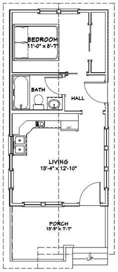PDF house plans, garage plans, shed plans. Shed Floor Plans, Garage Plans, Small House Plans, Shotgun House Floor Plans, Tiny House Layout, Tiny House Design, House Layouts, Apartment Layout, Apartment Plans