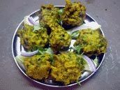 """Vegtable Pakoras, from a site called """"Indian Food Forever,"""" which I am 100% okay with."""