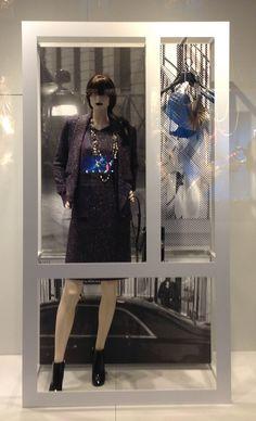 """CHANEL,London,""""affichage de la fenétre"""", pinned by Ton van der Veer"""