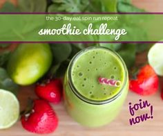 Join the 30 Day Eat Spin Run Repeat Smoothie Challenge!