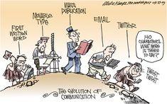 Evolution of communication twitter, communic, funni, social media, evolución de, humor, socialmedia, medium, evolut