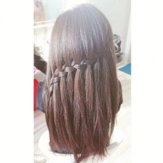 #365daysofbraids #day56 #waterfall #braid #braidideas #braidschallenge #warkocze #hotd #hairstylist #hairblogger #hairblog #photoshoot @jackymzee
