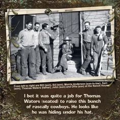 Rascally Cowboys...masculine page.