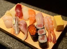 Japanese Sushi in Tsukiji / 築地の絶品お寿司  http://www.siragazome.jp/somegatari/22/index.html