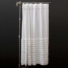 Shabby Chic shower curtain