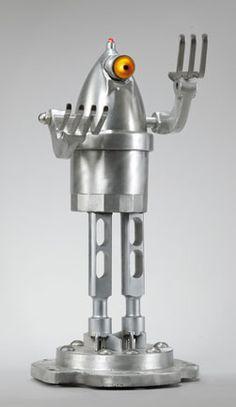 Robot Sculpture : Sentry5