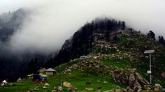 Trek to Triund >>>  Triund is a large land of green grass and pasture like. One can see the mighty #Dhauladhar ranges just above the eyes. This is the base camp and climatization point for trekkers climbing the Inderahara point in the Mt. #Dhauladhar.   #camping #treks #trekinfg #TrektoTriund